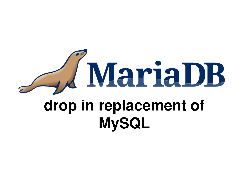 mariadb-replacement-mysql